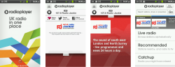 Radioplayer Android and iPhone apps